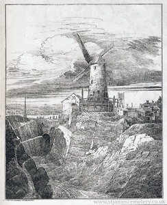 Quarry and Windmill, 1821