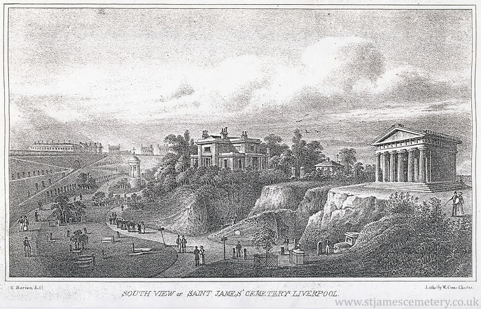 South View of Cemetery - 1830s-south-view.jpg
